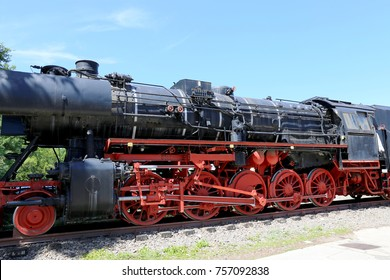 Historic steam locomotive from the 1940s