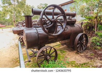 Historic Steam Traction Engines at Herberton, Queensland, Australia