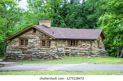 Historic Stone Lodge. Historic stone lodge rental built by the CCC in the 1930's at Pickett State Park in Jamestown, Tennessee. This is a public property and not a privately owned home or residence.
