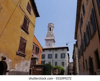 Historic streets of Verona