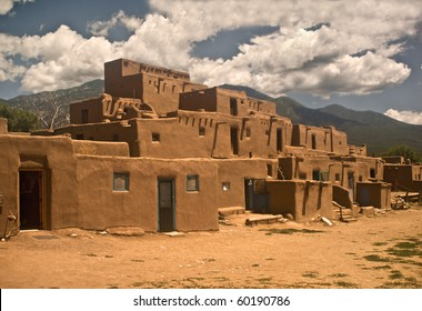Historic Taos Pueblo- North Section.  This is the oldest city in the United States