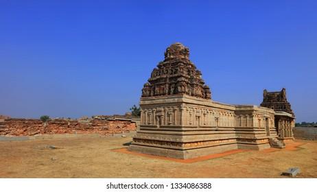 Historic temple in Hampi India