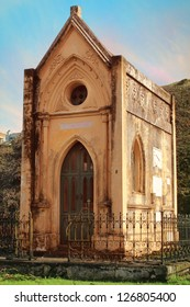 Historic Tomb in Cemetery, Guatemala City