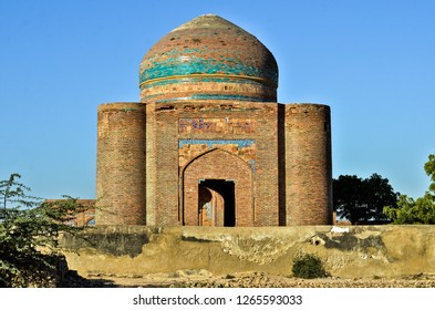 The historic Tomb of the (Makli) UNESCO HERITAGE SITE in the Sindh province of the Pakistan