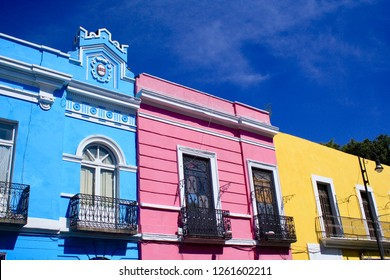 Historic Town of Puebla,Mexico