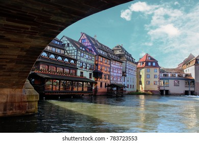 historic town of Strasbourg, France