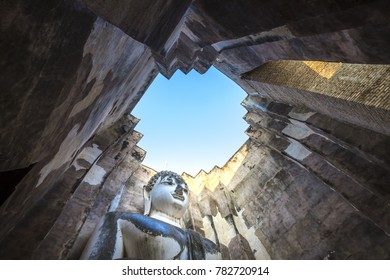 Historic Town of Sukhothai and Associated Historic Towns, Sukhothai Historical Park, Wat Si Chum, Sukhothai, Thailand