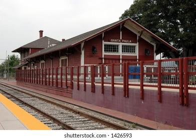 Historic Train Station, Santa Paula, California