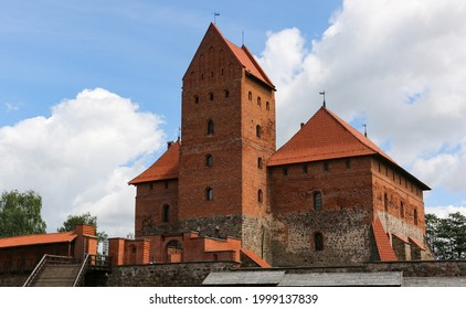 Historic Trakei Castle in Lithuania as a major historical attraction