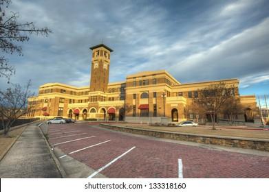 Historic Union Station in Little Rock, Arkansas.