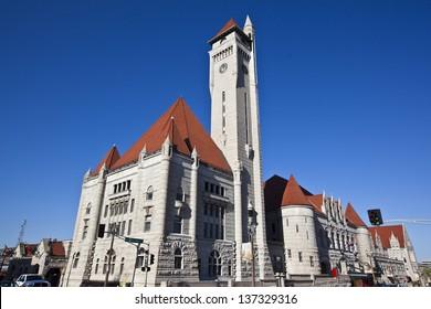 Historic Union Station in St. Louis, Missouri