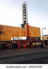 The historic Uptown theater is seen on Nov. 11, 2016 in Minneapolis, Minnesota.