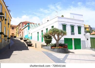 Historic village Granadilla de Abona on Tenerife Island, Canary Island, Spain