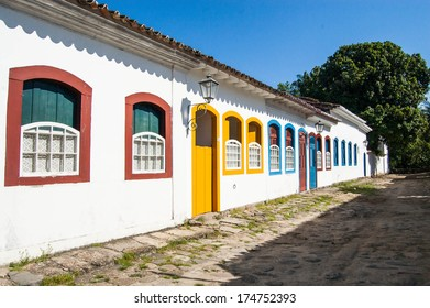 Historic village of Paraty, Brazil