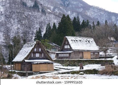 Historic Villages of and Gokayama world Heritage [放水銃] is [Fire water cannon] in English