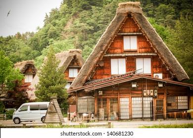 Historic Villages of Shirakawa-g? and Gokayama,The one of Japan's UNESCO World Heritage Sites.