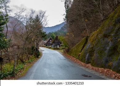 Historic Villages of Shirakawago, UNESCO world heritage Villages in Japan.