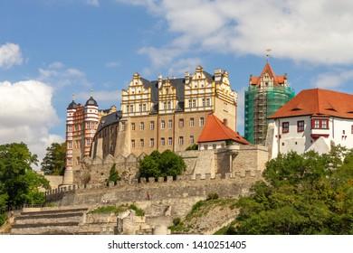 The historic walls of the castle, Bernburg