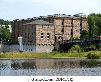 historic water plant at the river Ruhr