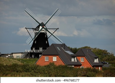 The Historic Windmill of Pellworm in Germany