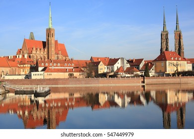 Historic Wroclaw in Poland