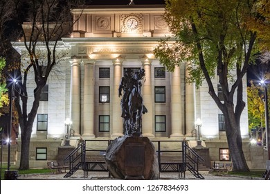 Historic Yavapai County Courthouse in Prescott Arizona