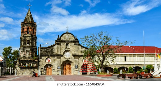 Historical Barasoain Church (Our Lady of Mt. Carmel Parish) and Convent - Malolos City, Bulacan, Philippines