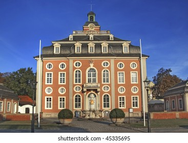 Historical baroque town court of Bruchsal, Germany