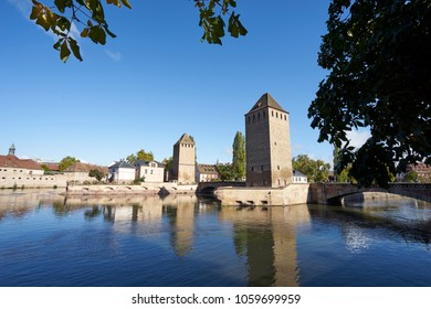 Historical Barrage Vauban in Strasbourg
