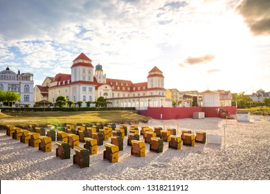 Historical Building in Binz, Island Ruegen, Germany