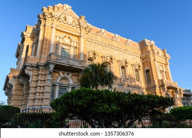 Historical building, called Palacio Canton, in spanish colonial style in Merida, Yucatan, Mexico