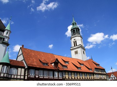 historical building in celle