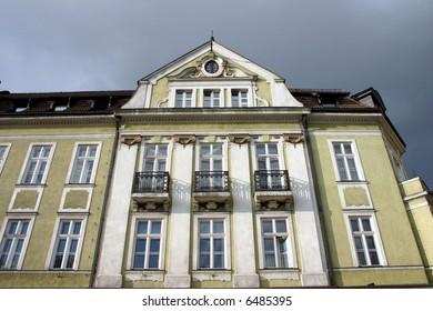 historical building in jelenia gora