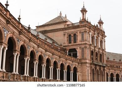 Historical Building Seville, Spain