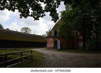 Historical Buildings on the Island Pfaueninsel, Wannsee, Zehlendorf, Berlin