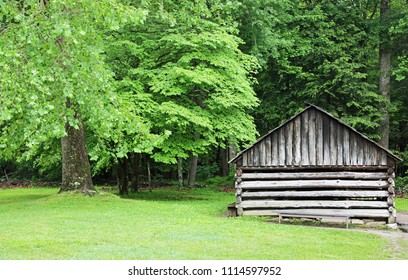 Historical cabin - Smoky Mountains National Park, Tennessee