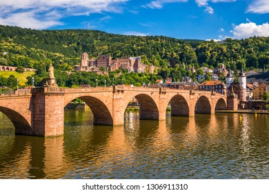 Historical Castle in Heidelberg, Germany
