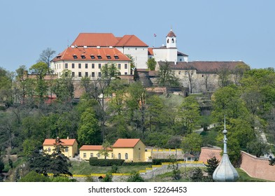 Historical castle and prison Spilberk in Brno