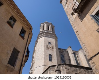 Historical center of Girona town, Catalonia, Spain