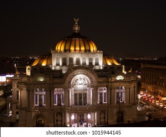 Historical center in Mexico City Palace of Fine Arts
