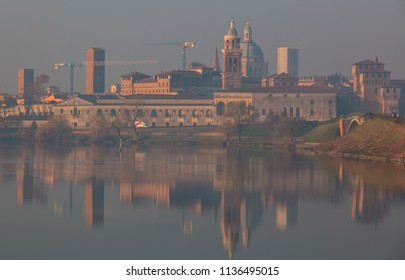 Historical centre of Mantua (Mantova), Italy