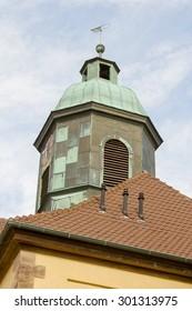 Historical church in Goettingen, Germany