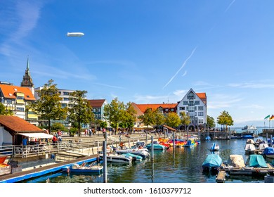 Historical city of Friedrichshafen, Lake Constance, Germany