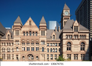 Historical City Hall building, downtown Toronto, Canada