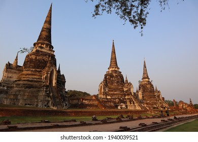 Historical and cultural ancient architecture in Ayutthaya, Thailand - Shutterstock ID 1940039521
