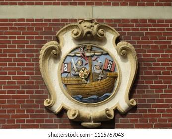 Historical Dutch naval sign