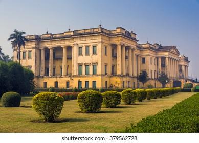 The historical famous Hazarduari Palace museum in Murshidabad, West Bengal, India.