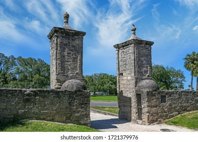 Historical Gates to city of St. Augustine