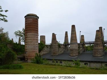 Historical Industrial Museum Park Ruedersdorf, Brandenburg - Shutterstock ID 1972838636