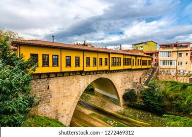 Historical Irgandi Bridge in Bursa City